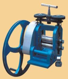 Mini Rolling Mill Hand Operated